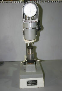 Newage Versitron 15 45 Kg Dial Readout Rockwell Hardness Tester 8in Throat