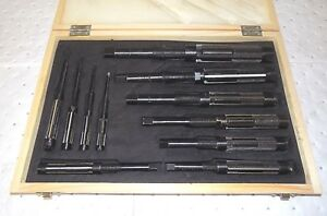 Adjustable 11 Piece Hand Reamer Set Hss 15 32 To1 1 2 Variable Diam 02239937
