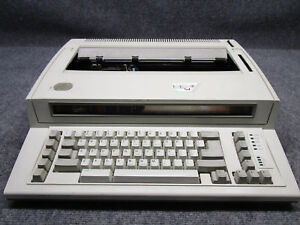Ibm Lexmark 6781 Personal Wheel Writer 2 Electronic Type Writer tested