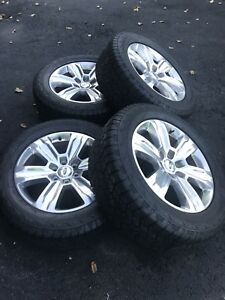 20 2015 Ford F150 Wheel And Tire like New