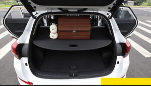 Rear Trunk Shade Cargo Cover For 2016 17 Hyundai Tucson Black Cargo Nets Liners