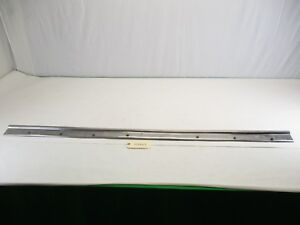 1959 1960 Chevy El Camino Bed Top Stainless Trim Driver Side Oem