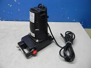 Little Giant Utility Pump 115vac 1 2hp 3 4 Ght Inlet outlet Upsp 5