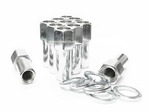 32 Cragar Sst Open End Xl 1 38 Shank Mag Lug Nuts 14x1 5 With Washer Ford Chevy