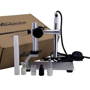 Usb Microscope Video Camera Digital Microscope 500x 8 Led With Software
