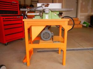 Inca 8 5 8 Jointer Swiss Made Single Phase Original Stand Articulating Guard