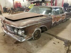 1962 Imperial Passenger Right Grill Chrome 406702