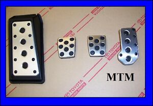 Lexus Is250 2006 2013 Oem Genuine Mtm Manual Trans Sport Pedals Pedal Set