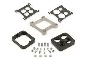 Mr Gasket 6009 Aluminum Carburetor Spacer And Or Carb Adapter Kit