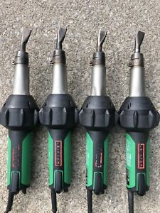 4 Leister Triac St Heat Guns Welders 20mm Nozzles