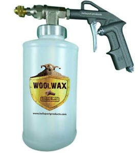 Fluid Film pro Undercoating Spray Gun With 3 Qt Bottles