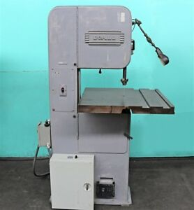 Doall 16 Vertical Band Saw