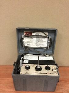 Bidle 5kv Dc Dielectric Test Set Cat 220005 Series Used Working W manual