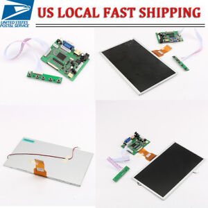 10 1 Tft Lcd Display W Hdmi vga video Driver Board For Raspberry Pi