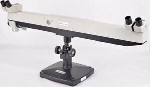 Reichert Jung K1632 Dual Viewing Stereo Zoom Training Educational Microscope