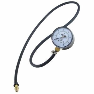 Gas Pressure Manometer Test Kit Hose Heavy Duty Home Electrical Tool Testers