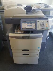 Toshiba 2040c Color Copier Printer Scanner In Great Working Condition