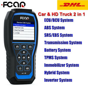 Launch V Plus Obd2 Code Reader Car Engine All Mode Evap System Diagnostic Tool