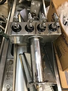 4 Faucet Glycol Ready Tower Stainless