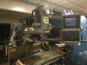 Bridgeport Interact 2 Series Ii Cnc Vertical Mill W Tooling Clearance Price