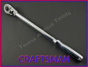 Craftsman Hand Tools 3 8 Full Polish Long Handle Ratchet Socket Wrench