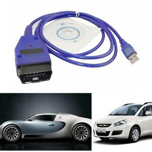 Usb Vag Com 409 1 Cable Obd2 Ii Obd Diagnostic Scanner 16 Pin For Vw Audi Seat