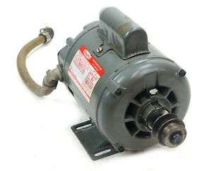 Dayton 5k440b Start Capacitor Motor 1 4 Hp 1140rpm With 5 8 Browning Pulley