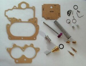 Vintage Carburetor Kit For A 1963 Dodge plymouth 2bbl Stromberg Ww Carb 3 222a