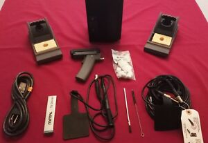 Metcal Mx 500ds Dual Port Soldering desoldering System W deluxe Package
