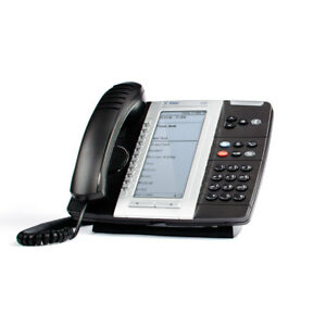 Mitel 5330e Ip Phone With Headset Module charger Base No Headset