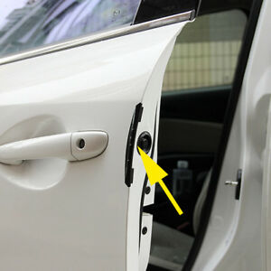4pcs Brown Car Door Edge Guard Anti Scratch Protector Moulding Strip Accessories