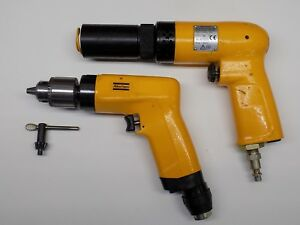 Mint Atlas Copco 4x Recoilless Rivet Gun Unused 1 4 Drill Aircraft Tool