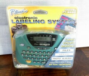 Brother P touch Electronic Labeling System Model Pt 65sc Nos