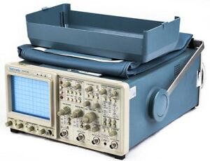Tektronix 2445b Industrial Portable 4 channel 200mhz Oscilloscope cover