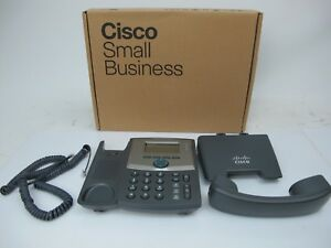 Cisco Spa303 g1 Voip Phone Desktop 3 Lines Used