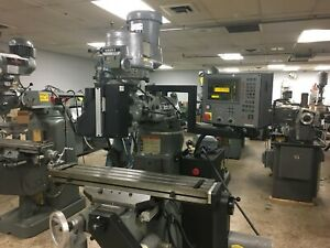 Bridgeport Series 1 Cnc 3 axis Vertical Mill Milling Machine Clearance Priced