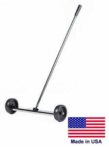 Magnetic Sweeper Commercial industrial 18 Cleaning Path 50 Lb Lifting Power