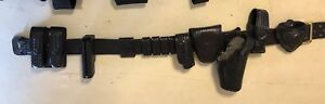 Leather Police Duty Gear Made By Safariland Size Waist 30 36