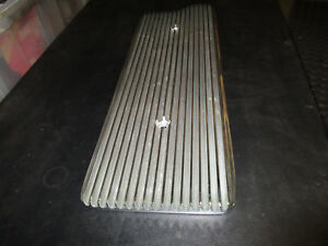 Buick Nailhead Polished Valley Cover Pan Aluminum Finned 264 322 364 401 425