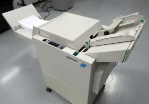 Morgana Plockmatic Bm61 Booklet Maker Like New Warranty Duplo Horizon