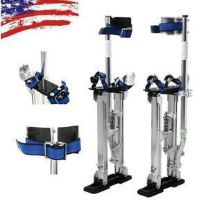 Drywall Stilts Aluminum Tool Stilt 15 23 Inch For Taping Painting Painter New