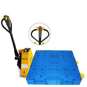 1 5t 3300lbs Electric Pallet Jack Warehouse Lithium Battery Power