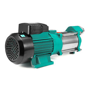 Screw Self priming Booster High Pressure Water Well Centrifugal Pump 220v 2m3 h