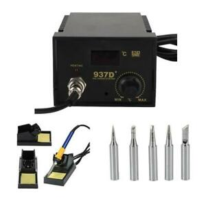 937d Esd Soldering Rework Station Digital Adjustable Welding Solder Smd Tool