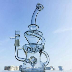 Glass Water Pipe Faberge Egg Style Rig Banger Hookah Dabber Bubbler Puck