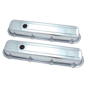 Spectre 5281 Chrome Valve Covers Cadillac 368 472