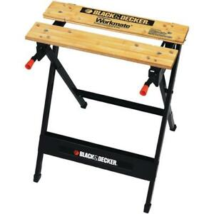 Black & Decker Workmate Portable Project Center & Vise (350lb Capacity)