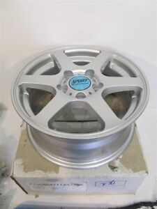 Sport Edition F12565421145795s F12 Silver 15x6 5 Wheel 5 Hole