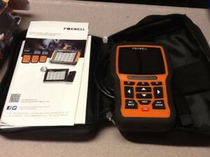 Foxwell Nt510 For Bmw Full Systems Engine Abs Srs Scanner Sas Dpf Tpms Epb Reset