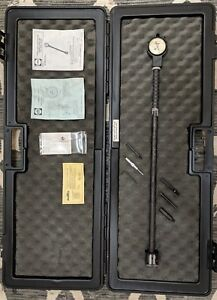 Gr 2241 Sunnen Dial Bore Gauge 2 6 X 24 0001 Increment W case And Accessories